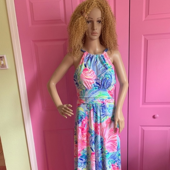 Lily Dresses & Skirts - JUST IN Lilly Pullitzer Maxi Dress - Size Medium